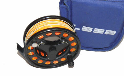Loop Sweden Model 2 Patent Large Arbour Tri Lobe Fly Reel With Line & Case • 179£