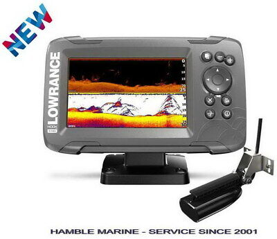 Lowrance HOOK2-5x GPS Fish Finder 5  With Splitshot HDI Transducer 000-14512-001 • 218.75£