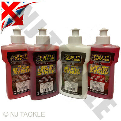 Carp Fishing Bait 250mls Liquids 4xBottles SPECIAL OFFER Match River  • 10.95£