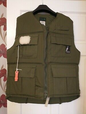 Heron Anglers Flotation Fishing Jacket Size L • 10£