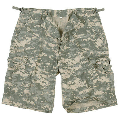 Ripstop Us Army Combat Cargo Military Mens Shorts Acu Digital Camo : S-xxl • 23.95£