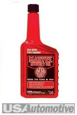 Marvel Mystery Oil And Fuel Additive Engine Hydraulic Lifter And Valve Treatment • 15.50£