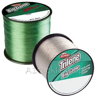 Berkley Trilene Big Game Fishing Line Monofilament  Green Or Clear • 11.49£