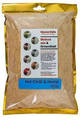 Hot Chilli & Hemp Method Mix And Ground Bait For Carp And Coarse Fishing • 10.99£