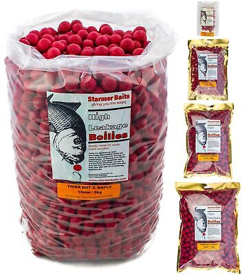 Tiger Nut & Maple Shelf Life Boilies For Carp And Coarse All Season Fishing 15mm • 8.99£