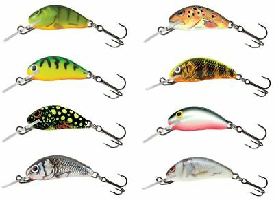 Salmo Hornet Sinking Crankbait Small / Perch Pike Lure Plug • 5.99£