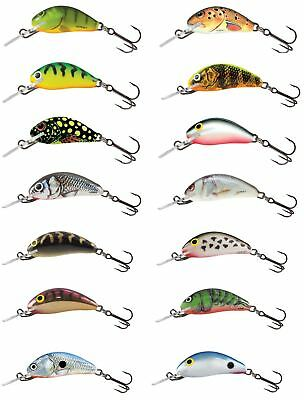 Salmo Hornet Floating Crankbait 3.5cm / Perch Pike Lure Plug • 5.99£