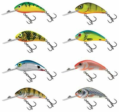 Salmo Rattlin' Hornet Floating Crankbait 5.5cm / Perch Pike Lure Plug • 9.49£