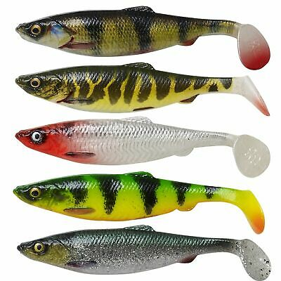 NEW Savage Gear 4D Herring Shad All Sizes All Colours Predator Pike Fishing Lure • 4.01£