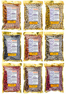 Ultimate Feed Boilies For Carp & Coarse Fishing 15mm 900g Mixed Flavours • 6.99£