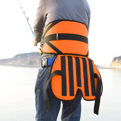 Sea Fishing Harness Adjustable Thickened Fighting Waists Belt With Cushion • 29.77£