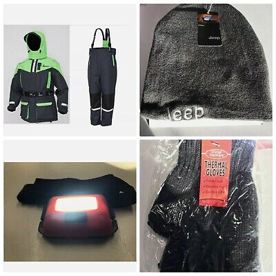 IMAX Floatation Suit 2PC All Sizes Sea Boat Fishing +free Head Torch  • 113.95£