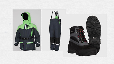 IMAX Seawave Floatation Suit 2PC All Sizes +imax Boots +FREE TORCH • 153.99£