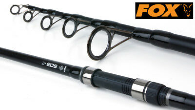 Fox EOS Telescopic Carp Rod - CRD256 - Brand New + Free Delivery • 54.95£