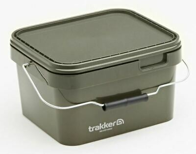 Trakker 5 Ltr Olive Square Container / Carp Fishing • 5.99£