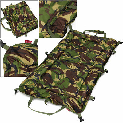 DPM Camo Folding 110x 70cm Unhooking Beanie Large Padded Mat Carp Fishing Tackle • 20.75£