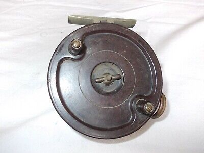 VINTAGE 3.75  ALLCOCK AERIALITE REEL  -- In Good Useable Condition • 19.99£