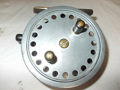 Vintage 4    THE HARDY- DECANTELLE  MARK 1 Centrepin Reel By HARDY. • 119.99£