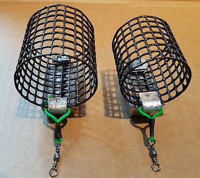 11 Sizes In 3/4oz - 8oz Std/XL River Cage Feeder Handmade Trent Barbel Feeders • 11.50£