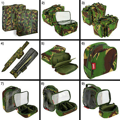 DPM Camo Carp Fishing Luggage Carryall Bag Holdall Tackle Pouch Buzzbar Cases  • 23.85£