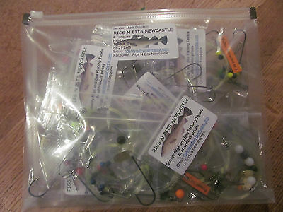 Sea Fishing Rigs X 30 Assorted: High Quality Professional Shore Rigs / Boat Rigs • 22.50£