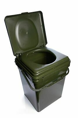 New RidgeMonkey Cozee Toilet Seat Only/ Full Kit With Bucket / Bags - Fishing • 11.98£