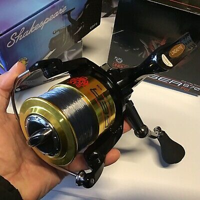 7+1 Bb Tiger 870 Fixed Large Sea Fishing Beach Pier Reel 30lb Line Lineaeffe • 29.99£