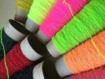 2m UV BOOSTED STRAGGLE FRITZ CHENILLE - FLY TYING  • 1.25£