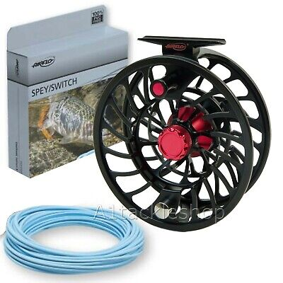 Airflo V2 Trout And Salmon Fly Fishing Reels With Free Line • 119.99£