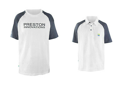 Preston Innovations White T-shirts Or Polos Assorted Sizes Fishing Clothing • 15.99£