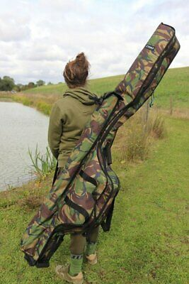 NEW Cult DPM Camo 3 Rod Holdall Or Single Rod Sleeve 12ft / 13ft - Carp Fishing • 59.98£