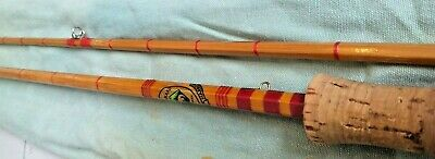 Rare Vintage Otter Brand Youngs Of Harrow 2 Piece Split Cane Fishing Rod  • 66.99£