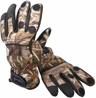 Prologic Max 5 Neoprene Gloves Insulated Water Resistant Carp Fishing Clothing • 18.99£