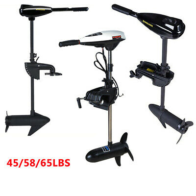 45 58 65 Lbs Thrust Electric Outboard Trolling Motor Fishing Boat Dinghy Engine  • 145.99£