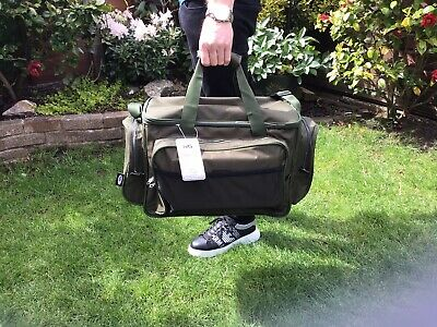 NGT  X X LargeGreen Carp Coarse Fishing Tackle Bag Holdall Quality Bag Insulated • 19.95£