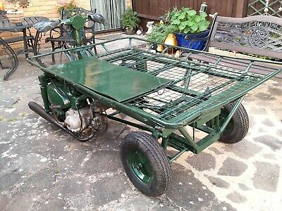 Fishing Barrow / Trolley Transporter Petrol Engine  • 750£