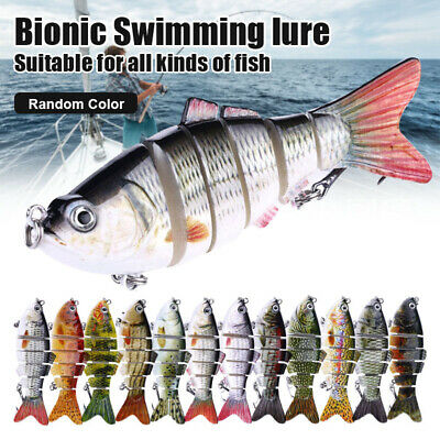 1/3/5 Pcs Bionic Swimming Lure Fishing Bait 10cm Suitable For All Kinds Of Fish • 5.89£