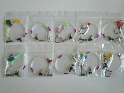 10 High Quality Pulleys - Sea Fishing Rigs  • 7.50£