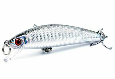 Minnow Fishing Lure 7.5g 8.5cm Hard Crankbait Wobblers Jerkbait  • 2.99£