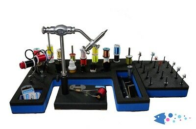Upavon Compact Fly Tying Station & Tool Caddy • 58.99£