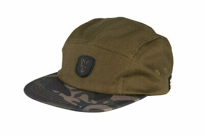 Fox Carp Fishing Head Wear Range - Camo & Khaki Peaked Volley Cap • 14.99£