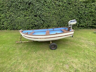 10ft Boat With Outboard And Trailer • 800£