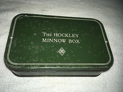 A Vintage Hockley Lure Box Large Size With Lures  • 23£
