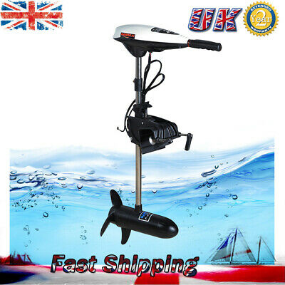 45lbs Electric Outboard Motor Trolling Engine Motor For Fishing Boat Kayak New • 123£