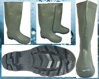23 X JobLot Wholesale Fishing Lineaeffe Wellington Boots Size  Adult 7 -11 Green • 89£