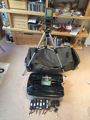 Big Lake Fishing/bait Boat + Fish Finder + Stand + Carry Bag + Spare Batteries • 350£