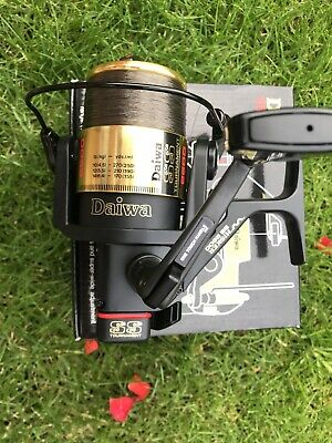 DAIWA WHISKER SS 2600 Carp Pike Barbel Reel . Boxed With Fox Exocet Line . • 34£
