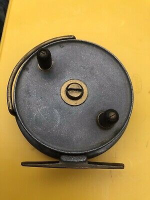 Rare Milwards Zephyr Alloy Vintage Trotting Reel With Line Guide 4 Collector • 30£
