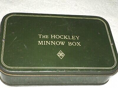 A Vintage Hockley Lure Box With Lures  • 35£