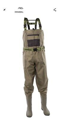 Snowbee Chest Waders Size 10 • 90£